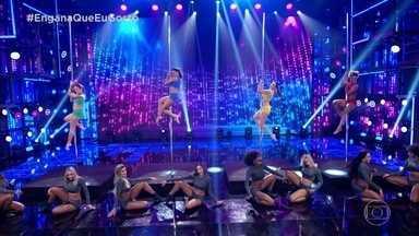 Engana Que Eu Gosto: bailarinas apresentam o pole dance - Tente descobrir qual delas não é a profissional
