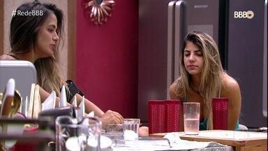 Carol e Hariany querem ganhar a Prova do Líder - Paula revela que prefere ir ao paredão com Alan