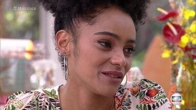 Gabriela comenta a prova de resistência, em que ficou mais de 24 horas - A ex-BBB diz que sentiu muitas dores e desistiu por acreditar que Paula ainda fosse resistir por mais tempo. Ela também fala sobre o paredão que enfrentou com Rízia