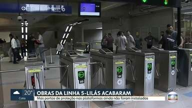 Última estação que faltava na linha 5-Lilás fica pronta - Foi com muito atraso, mas a estação Campo Belo foi entregue.