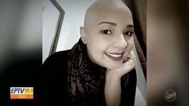 Dia Mundial de Combate ao Câncer: veja os relatos de quem precisa lidar com a doença - EPTV1 conversou com três pessoas que precisam lidar com uma doença em comum: o câncer.