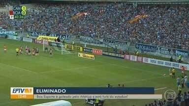 Boa Esporte é goleado pelo Atlético-MG e está fora do estadual - Boa Esporte é goleado pelo Atlético-MG e está fora do estadual