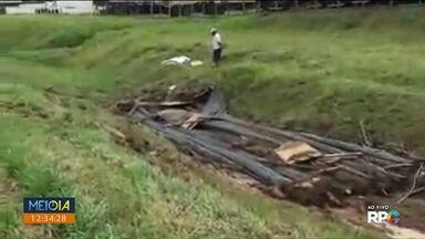 Acidente na BR-116 deixa pista interditada - Foi hoje (8) cedo em Curitiba.