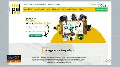 Programa Impulso está com inscrições abertas - Instituições e projetos sociais podem se inscrever. O programa auxilia na gestão das instituições através de aulas e palestras.