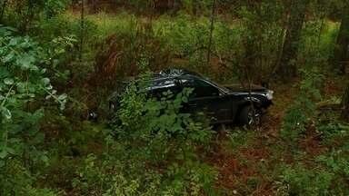 Jovem morre em acidente de trânsito na RS 331 em Erechim - Dois adolescentes que também estavam no carro ficaram feridos.