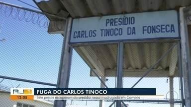 Sete presos fogem após serrar grade de cela em penitenciária de Campos, no RJ - Um foi capturado, segundo a Secretaria de Estado de Administração Penitenciária.
