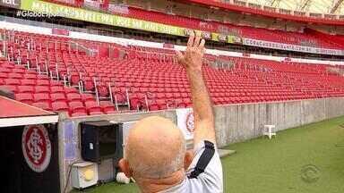 Gigante 50 Anos: torcedores falam da relação com o Beira-Rio - Reportagem faz parte de uma série que conta a história do estádio.