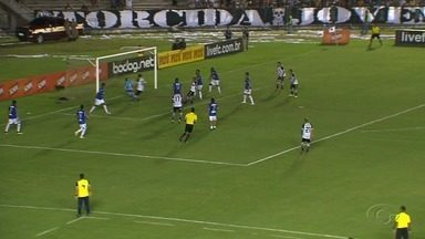 CSA sofre três gols e dá adeus à Copa do Nordeste - Partida foi contra o Botafogo-PB no domingo (7).