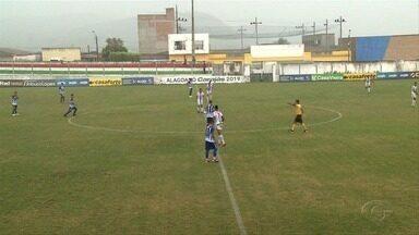 Coruripe vence o Jaciobá e abre vantagem na disputa pelo 3º lugar do Campeonato Alagoano - Partida aconteceu no Estádio Estádio Matias, em Olha D'Água das Flores.