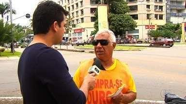 Torcedores criticam confusão no clássico entre Atlético-GO e Vila Nova - Globo Esporte foi às ruas para ouvir a opinião da galera sobre a briga entre Atlético-GO e Vila Nova.