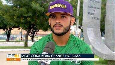 Esporte: Iago comemora chance no Icasa - Outras informações no g1.com.br/ce