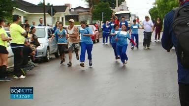 Corrida da inclusão reúne alunos da APAE em Pinhão - A prova contou com a participação de familiares e atletas.