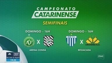 Última rodada define semifinalistas e rebaixados do Campeonato Catarinense - Última rodada define semifinalistas e rebaixados do Campeonato Catarinense