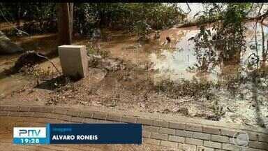 Volume dos rios baixou em Teresina, mas situação ainda preocupa - Volume dos rios baixou em Teresina, mas situação ainda preocupa