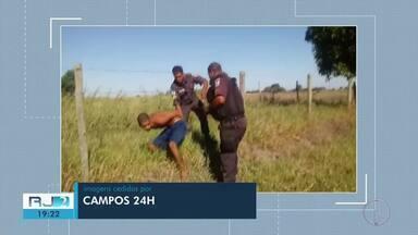 Três detentos que fugiram de presídio foram recapturados em Campos, no RJ - Quatro ainda estão foragidos.