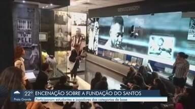 Santos Futebol Clube inicia comemoração de 107 anos - O clube faz aniversário no dia 14 de abril.
