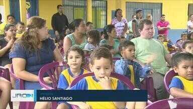 Lançamento do projeto Saúde na Escola - Inciativa é uma junção das secretarias de educação e saúde de Porto Velho.