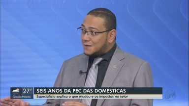 Advogado trabalhista explica os impactos causados pela PEC das domésticas - Mudanças completam seis anos.