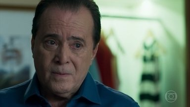 Olavo ordena que Laura adie sua vingança contra Gabriel e Luz - Laura explica que Sampaio salvou sua vida após Valentina empurrá-la da escada. Olavo fica furioso ao descobrir que Sampaio tentou matar Gabriel no hospital