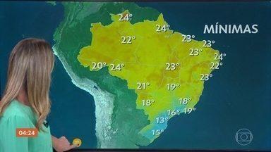 Meteorologia prevê diminuição da chuva no RJ nesta quarta-feira (10) - A previsão é de chuva para o Rio de Janeiro. Temporal pode atingir o ES e parte de MG.