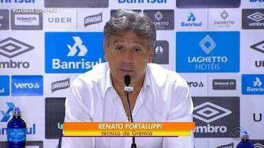 Renato afirma que ´´Grêmio ainda vai conseguir a classificação na Liberatores´´ - Time precisa de vitória contra o Rosário nesta quarta-feira (10).