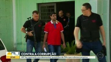 MP desmonta quadrilha da policiais que arrecadavam propina - Investigação aponta que PMs e guardas de Casimiro de Abreu, no interior do estado, apreendiam carros e cobravam propina.