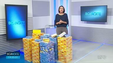 Campanha Páscoa RPC arrecada caixas de bombom que serão distribuídas em dez instituições - Doações podem ser feitas nos campi da UEPG e na RPC.