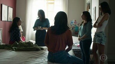 Missade pede para conversar a sós com Laila - Ela quer saber se o bebê que a filha espera é de Jamil