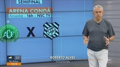 Roberto Alves analisa rodada do Campeonato Catarinense - Roberto Alves analisa rodada do Campeonato Catarinense