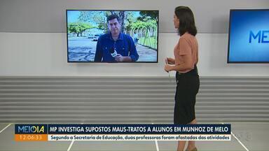 Professoras são suspeitas de agredir crianças em Munhoz de Mello - Duas profissionais foram afastadas após denúncias.