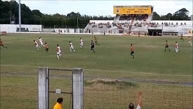 Rio Grande empata em 1x1 com Guarany de Bagé pela Terceirona - No estádio Arthur Lawson, tricolor ficou no empate no duelo com equipe de Bagé. Foi o segundo empate em três jogos.
