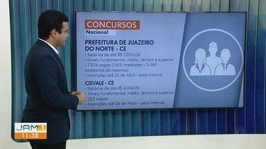 Flávio Guimarães fala sobre oportunidades - Confira as opções de concursos.