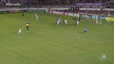 Bahia de Feira empata com Bahia na primeira partida da final do Campeonato Baiano - A próxima partida acontece na Arena Fonte Nova, em Salvador.