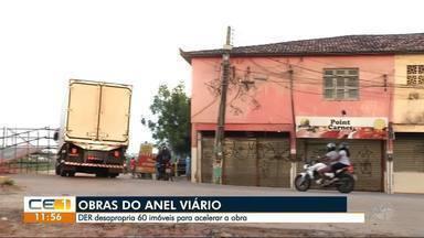 Desapropriação de 60 imóveis deve acelerar obra no Anel Viário - Confira outras notícias no g1.com.br.ce