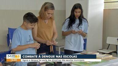 Combate à dengue até na escola - Combate à dengue até na escola