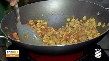 Na semana do índio, Terenas participam de aula gastronômica - Na semana do índio, Terenas participam de aula gastronômica
