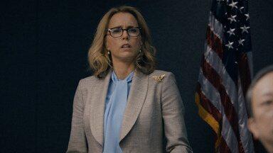Doutrina de Ação - Elizabeth ignora a recomendação do presidente Dalton sobre como negociar o retorno seguro de um funcionário do Departamento de Estado que foi sequestrado no Afeganistão.