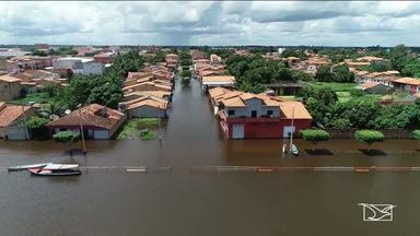 24 cidades decretam estado de emergência por causa das chuvas no Maranhão - Mais três cidades entraram na lista da Defesa Civil do Maranhão.