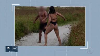 Suspeito de importunação sexual em Cabo Frio, RJ, é ouvido pela polícia - Assista a seguir.