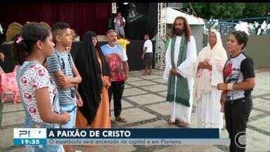Paixão de Cristo será encenada em Teresina e Floriano - Paixão de Cristo será encenada em Teresina e Floriano