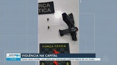 Fim de semana é marcado por quatro mortes violentas na capital e interior do Amapá - Assassinatos aconteceram em Macapá e Cutias.