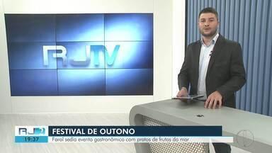 Festival gastronômico será realizado no Farol de São Thomé, em Campos, no RJ - Assista a seguir.