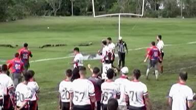 Mogi Desbravadores perde pelo Paulista de Futebol Americano Flag - Time mogiano foi superado pelo Double Dragons por 8 a 6.