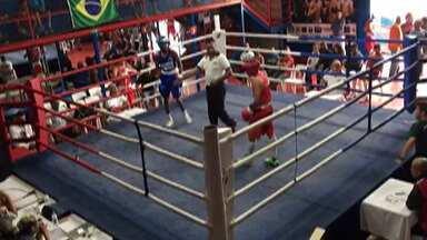 Laion Durães disputa semifinal de boxe na Copa Talento - O garoto foi o melhor em todos os rounds, mostrou a tradicional técnica apurada e agressividade.