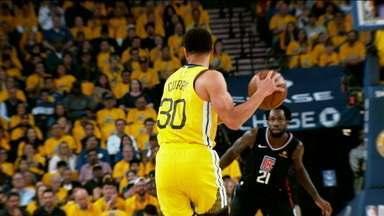 Que jogo! Golden State Warriors e Los Angeles Clippes fazem jogo eletrizante na NBA - Que jogo! Golden State Warriors e Los Angeles Clippes fazem jogo eletrizante na NBA