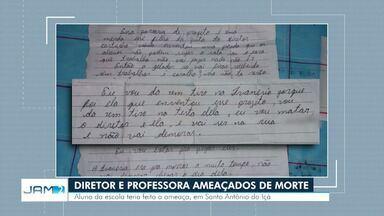 Diretor e professora são ameaçados de morte no AM - Aluno da escola teria feito a ameaça, em Santo Antônio do Içá.