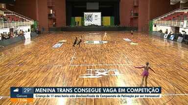 Após ser desclassificada, criança trans consegue vaga em competição de patinação artística - Após ser desclassificada, criança trans consegue vaga em competição de patinação artística
