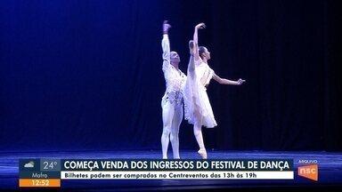 Começa venda de ingressos para Festival de Dança - Começa venda de ingressos para Festival de Dança