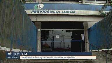 Beneficiários do INSS sofrem aguardando as revisões de seus pedidos na Baixada Santista - Revisões e pedidos estão concentradas na agência de Santos, então pedidos estão levando mais de sete meses para serem analisados.