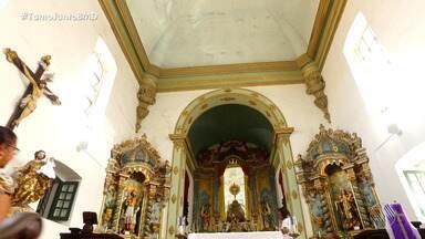 Igreja de São Raimundo mantém vigília permanente durante todos os dias do ano - A igreja fica localizada no centro de Salvador.
